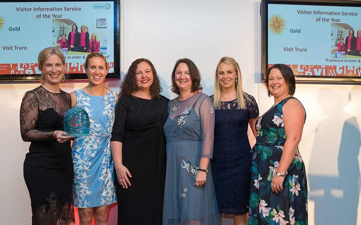 Gold, Cornwall Tourism Award Winners