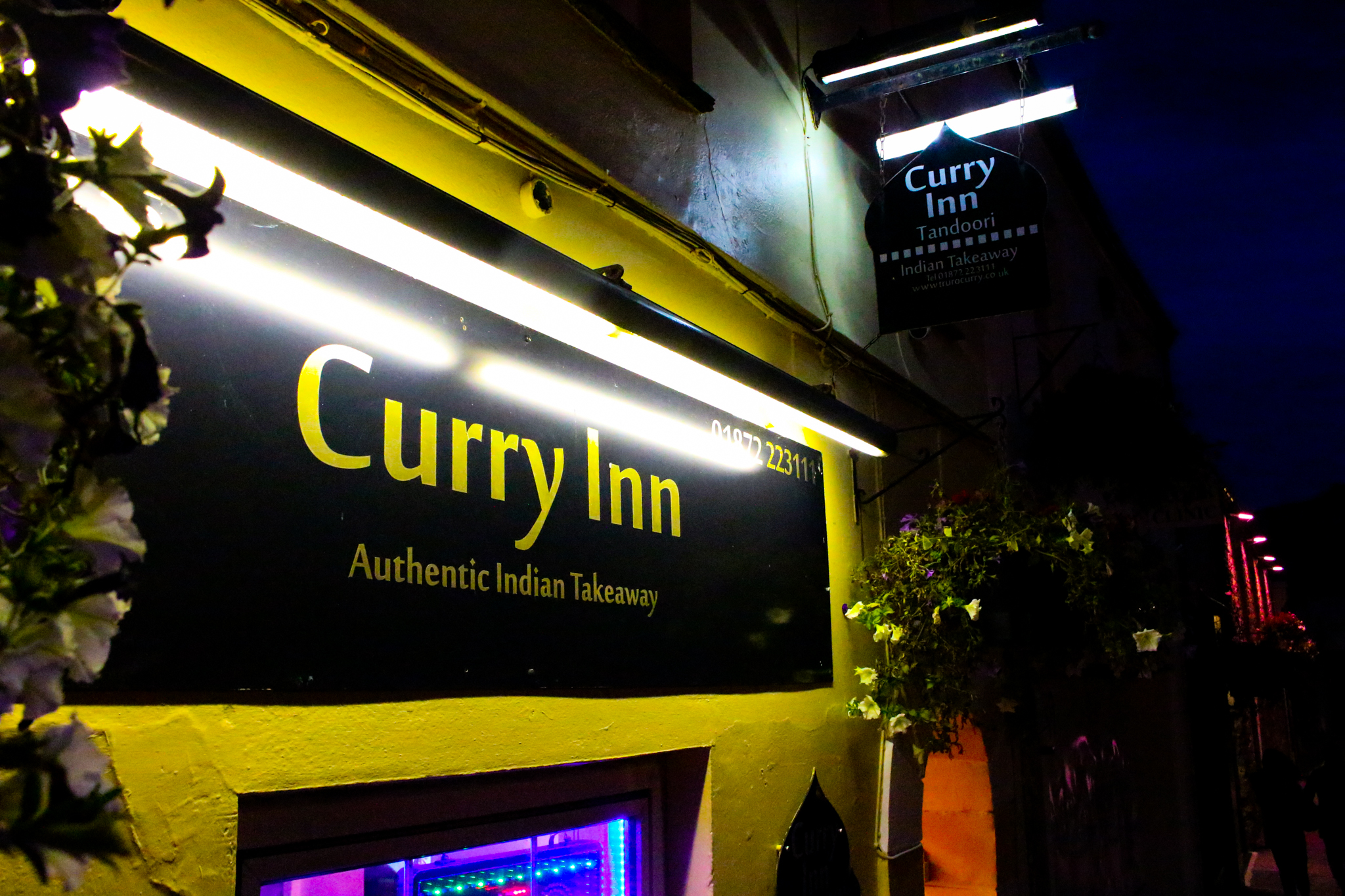 Curry Inn Curry House In Truro Cornwall