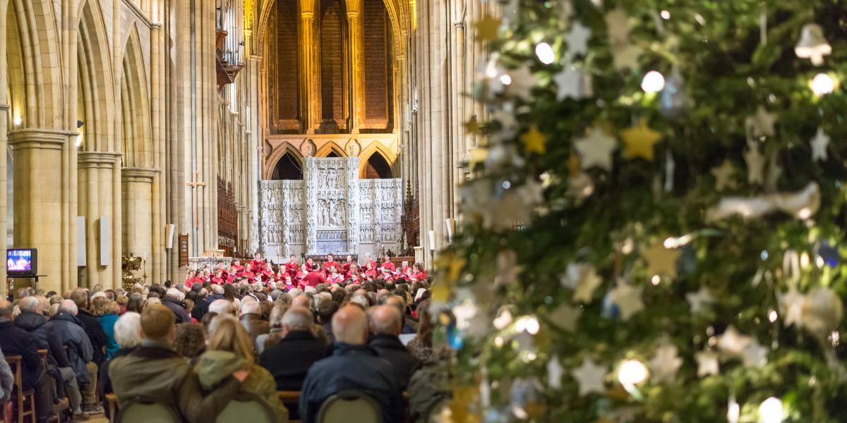 Truro Cathedral Choir Christmas concert