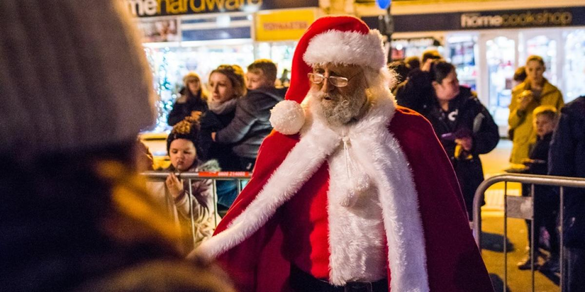 The Christmas Parade.The Father Christmas Parade Local Events In Truro
