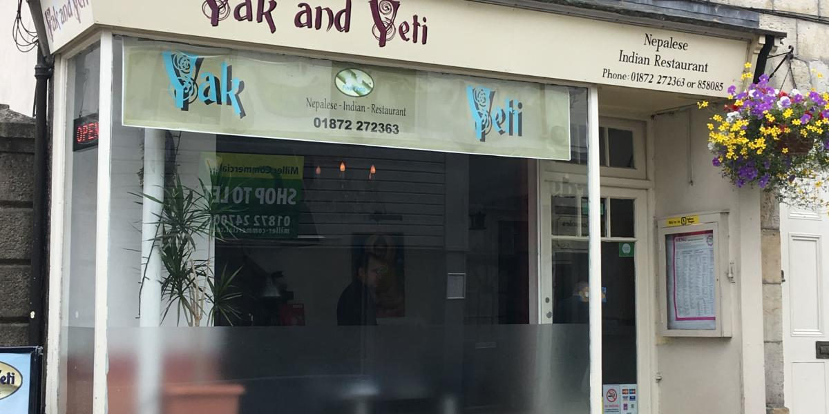 Yak and Yeti, Truro