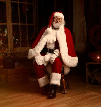 Father Christmas at the Museum