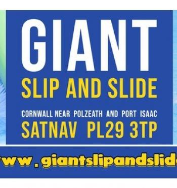 Giant Slip and Slide Cornwall