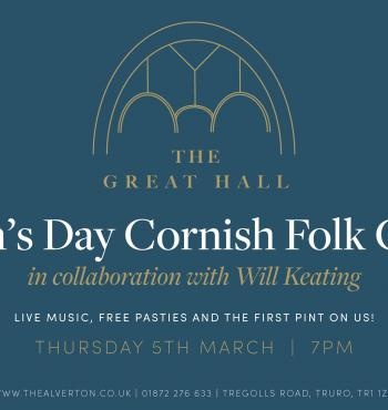 St Piran's Day Cornish Folk Concert, Truro