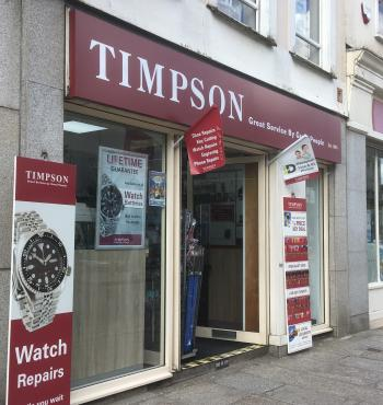 Timpsons, Truro