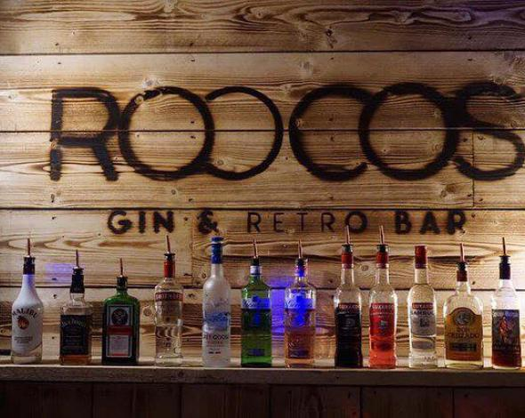 Roccos Gin and Retro Bar, Truro